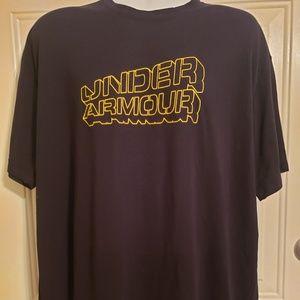 NWOT Under Armour UA Fishing Lure Black shirt